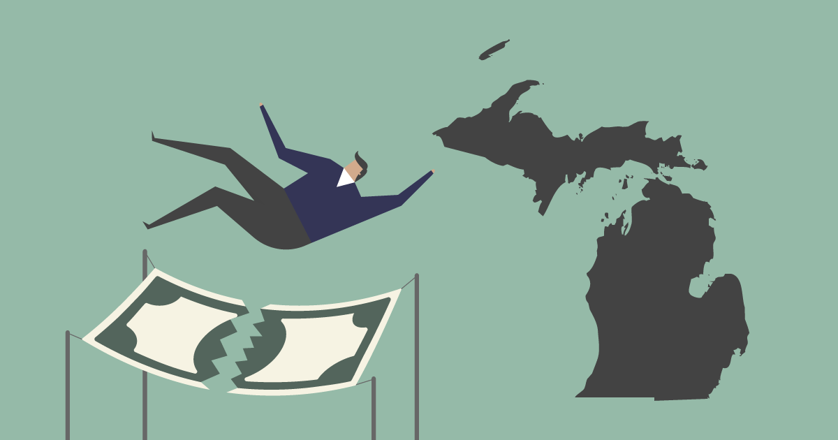 Creative Accounting  And Michigan's Weak Safety Net
